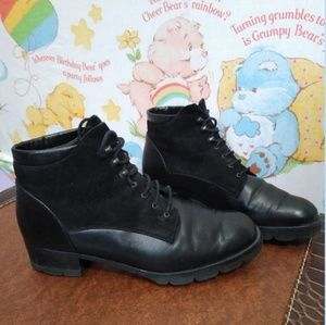 Paul Green Leather/Suede Booties